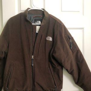 NWOT NorthFace Corduroy bomber jacket